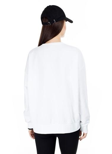 Cazador Sweatshirt Beyaz